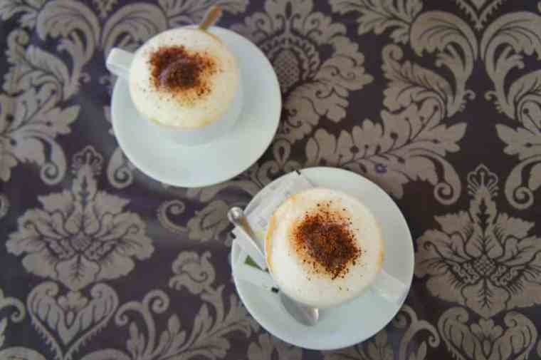Coffee at Hotel Grace Restaurant