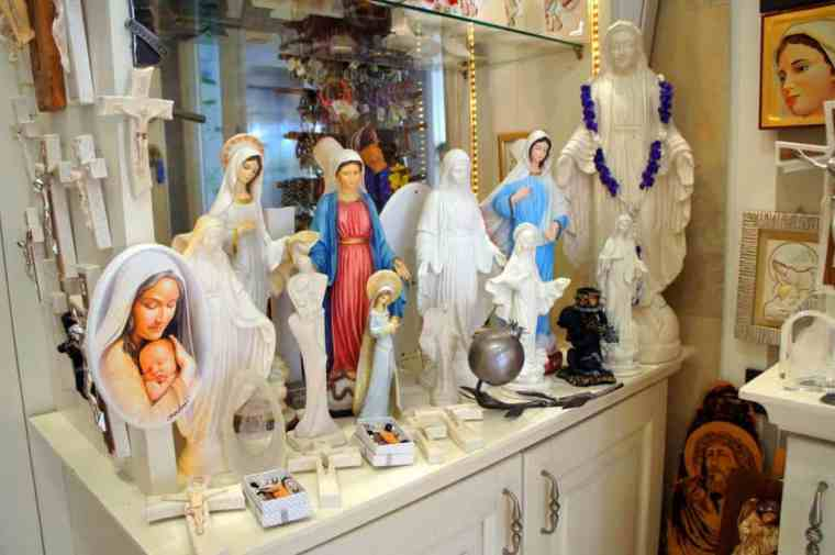 Souvenirs in Medjugorje