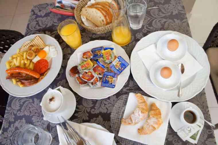 Breakfast at Hotel Grace