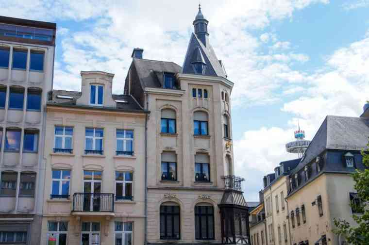 Luxembourg center
