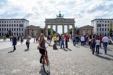 Cycling in Berlin