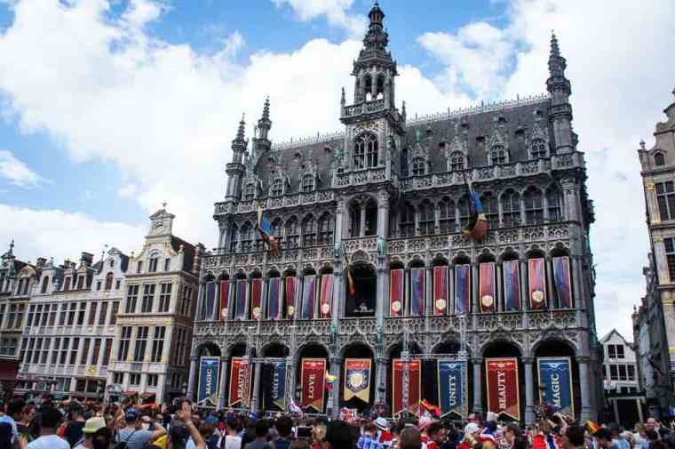 The Grote Markt in Brussels