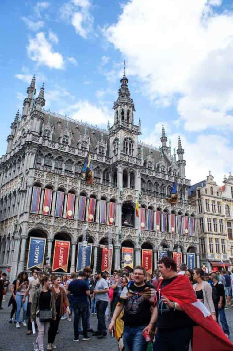 Dj live at Grote Markt, Brussels