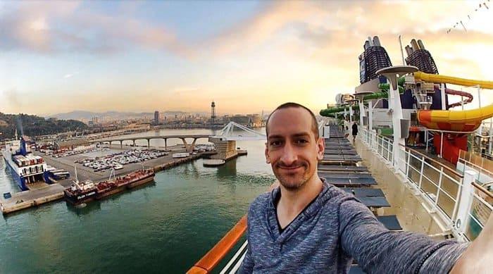 Trans-Atlantic cruise, Miami to Barcelona