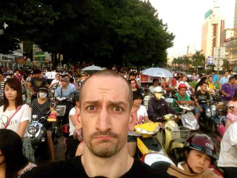 Feeling a bit out of place in Nanning, China