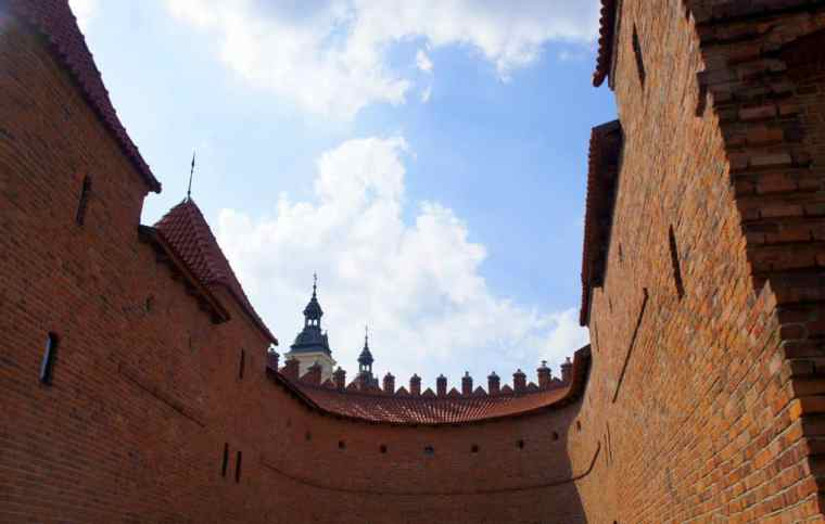 Warsaw castle