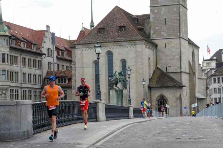 Marathon in Zurich