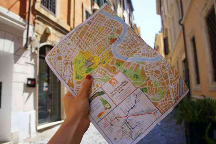 Map to Rome