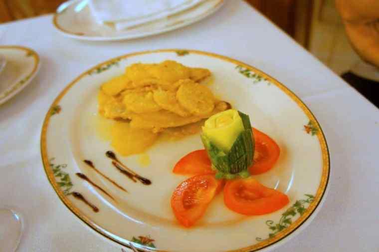 Dinner at Hotel Valle Rossa, San Giovanni Rotondo