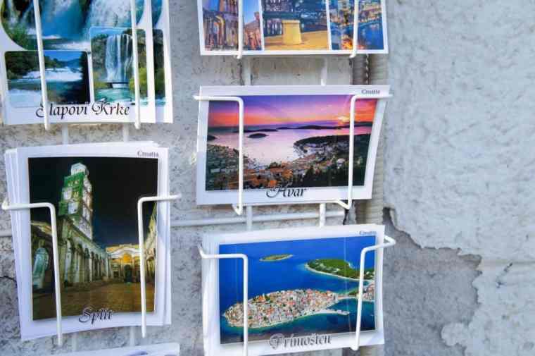 Postcards from Split