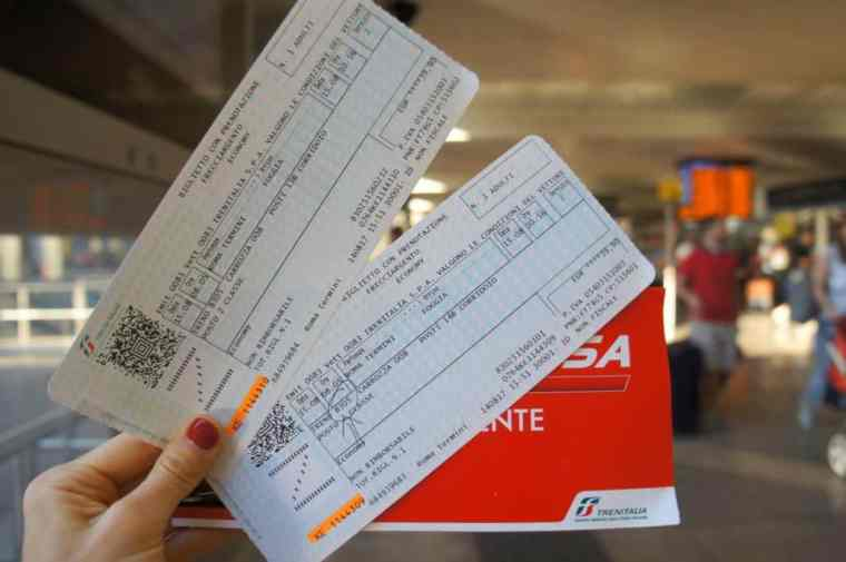 Train tickets Italy