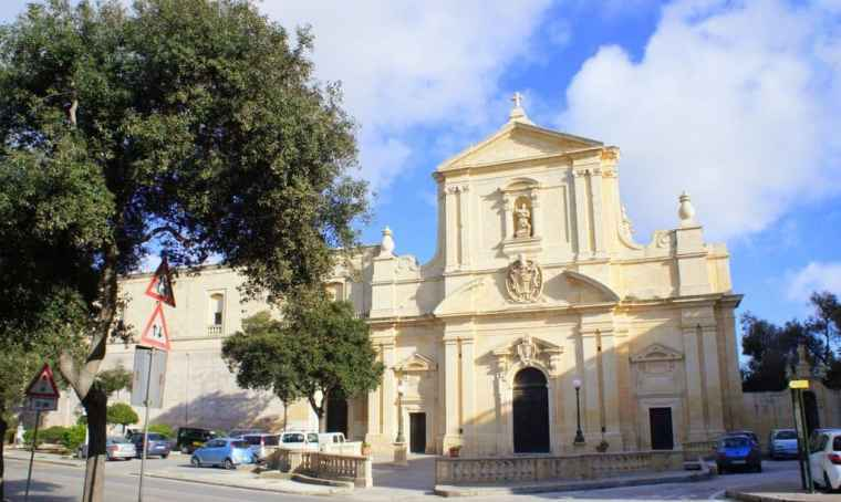Beautiful Church in Malta
