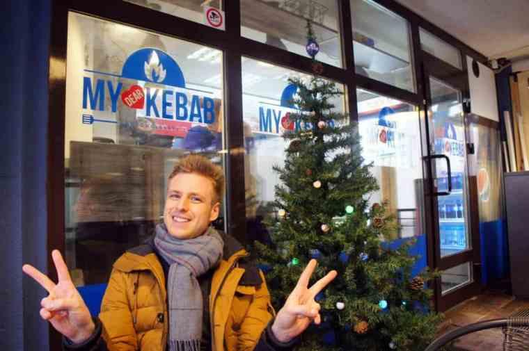 Cez at My Dear Kebab in Minsk, Belarus