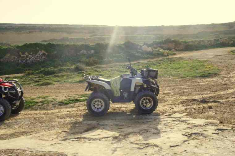 A quad in Gozo Island