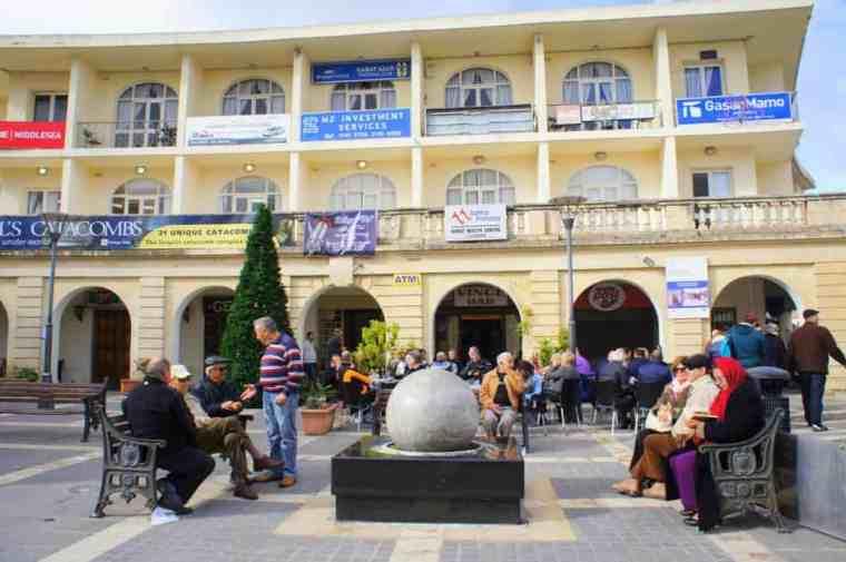 Square in Malta