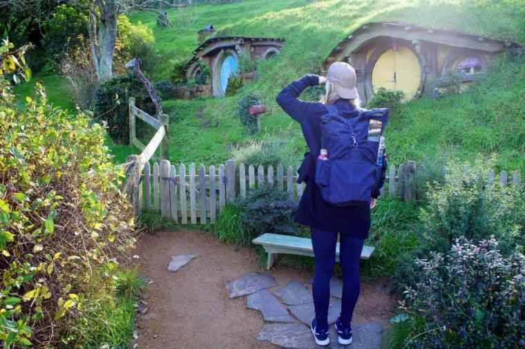 Visiting the Hobbiton city