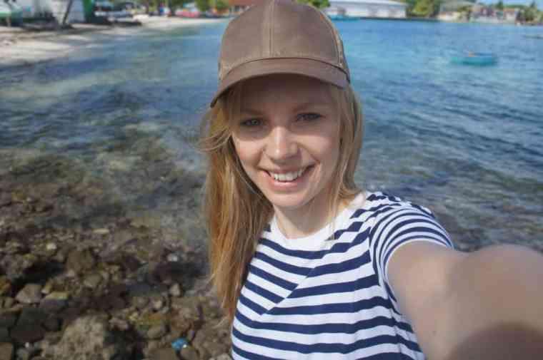 Agness of eTramping selfie