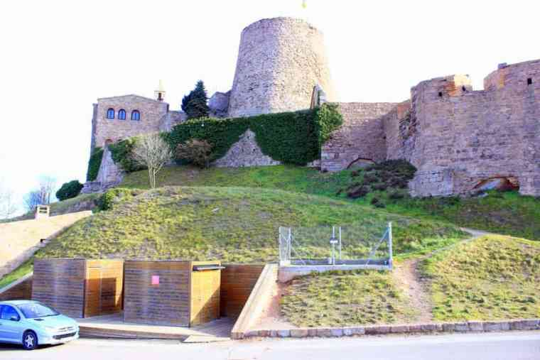 Outside the Castle of Cardona