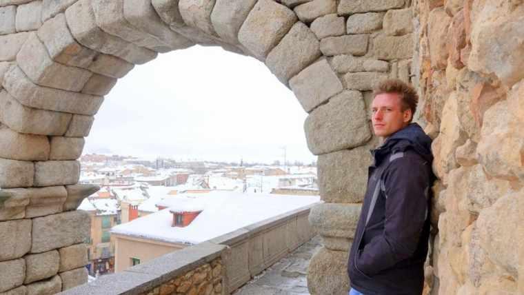 Cez of Etramping in Segovia