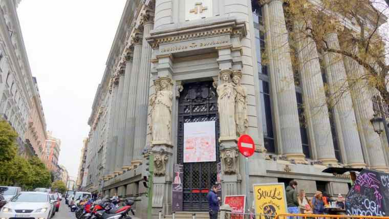 The Instituto Cervantes of Madrid