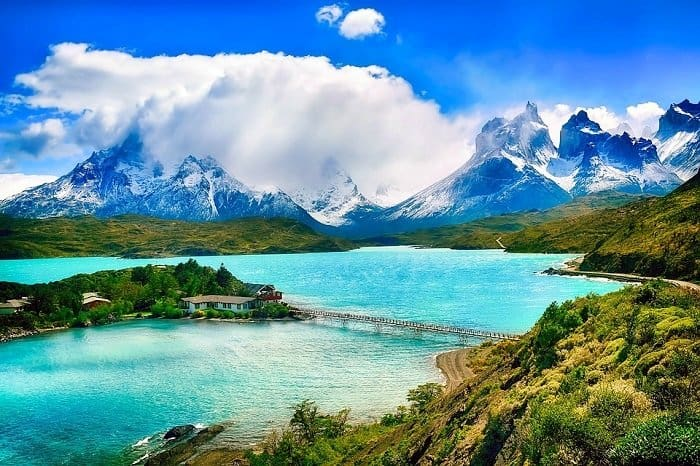 Torres Del Paine Chile where foreigners have to pay 32000 CLP to visit