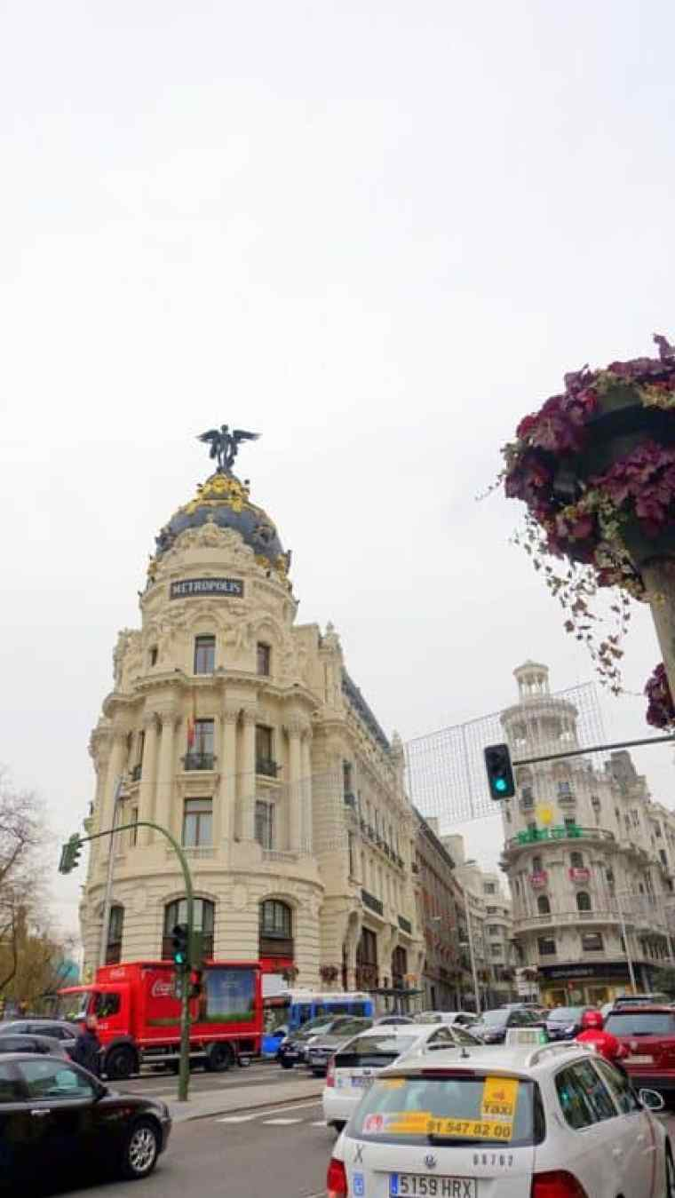 Walking in Madrid