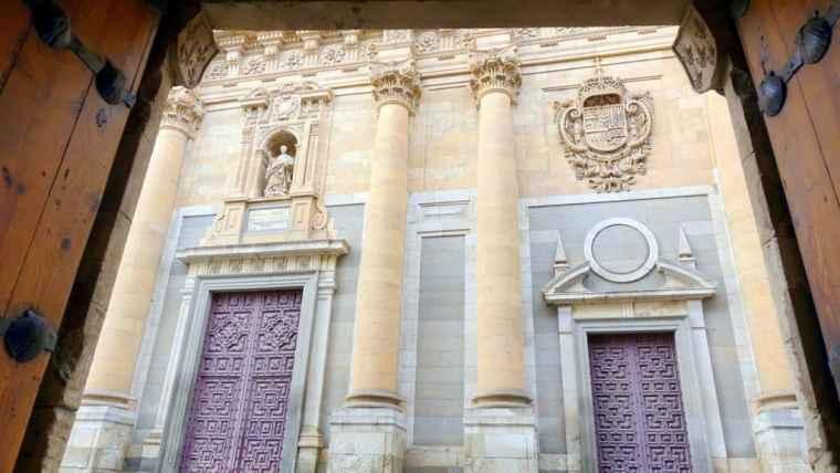 Public library in Salamanca
