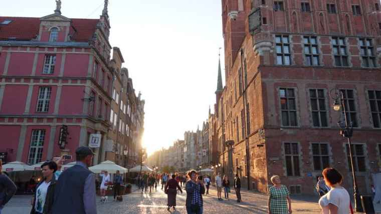 Beautiful Gdansk in the sunshine