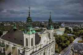 The cathedral in Lublin