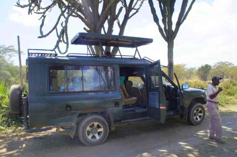 Safari at Lake Naivasha