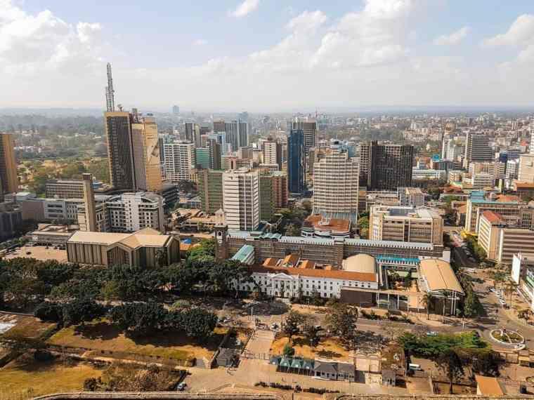 Nairobi's skyscrapers
