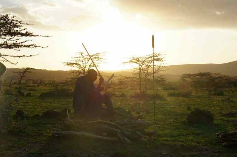 the Maasai man