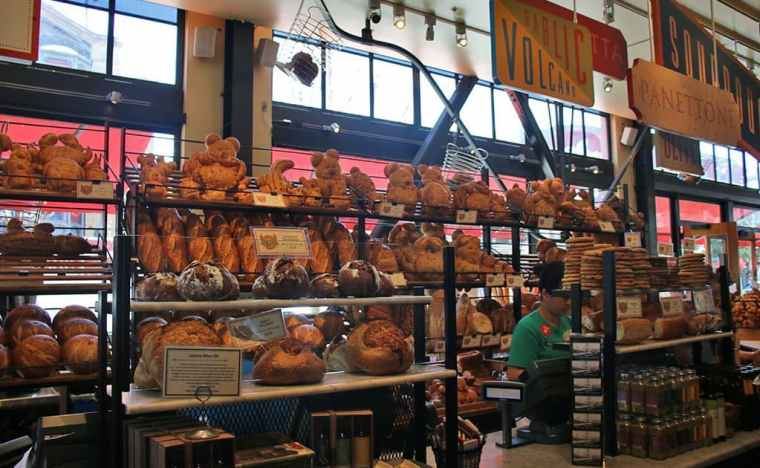 Boudin Bakery Sourdough bread