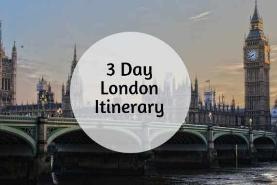3 day london itinerary