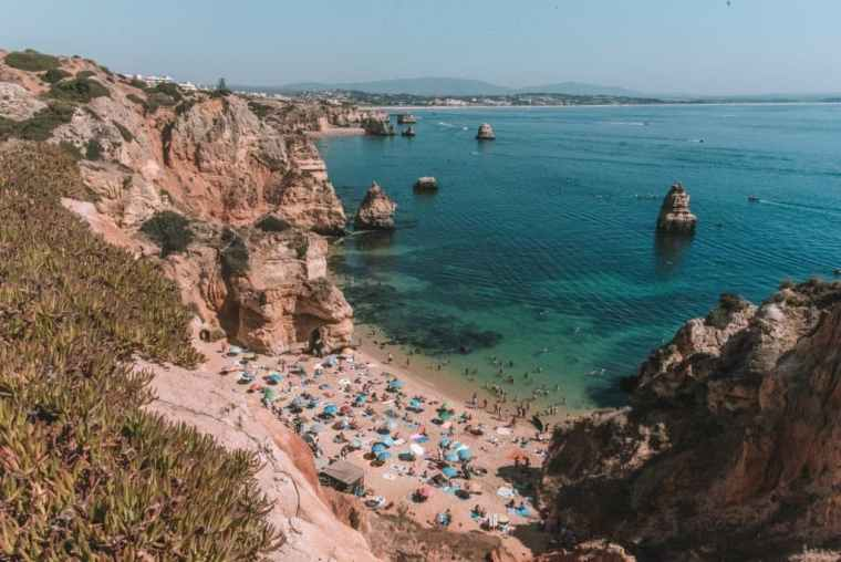 road trip to Algarve, Algarve itinerary, Praia do Camilo