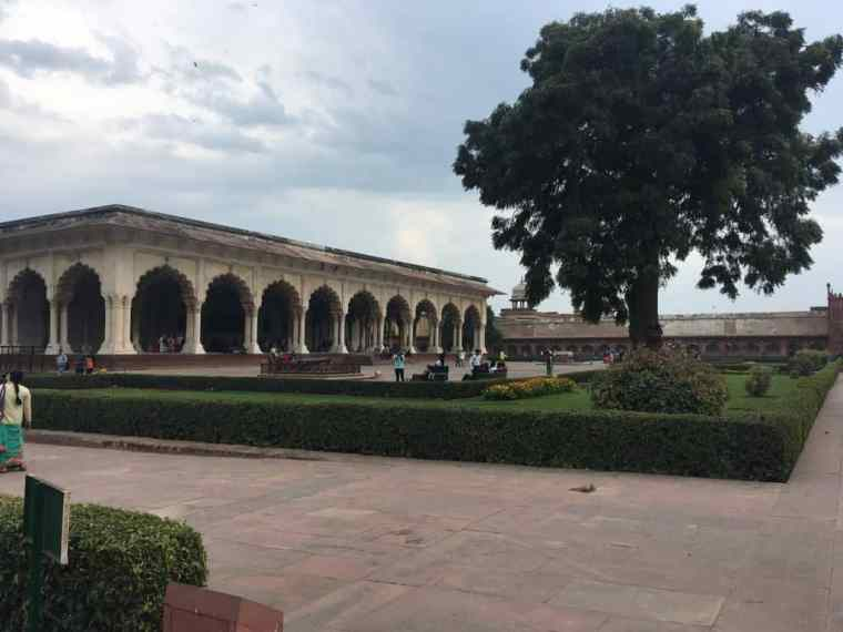 Garden in Agra Fort