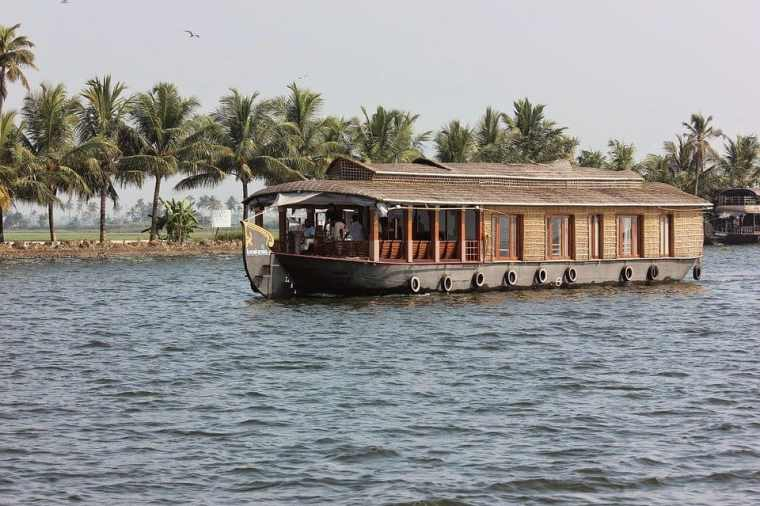 Houseboat on Kerala's famous backwaters