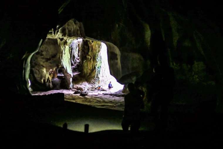 Inside of Pha Thak Cave Laos