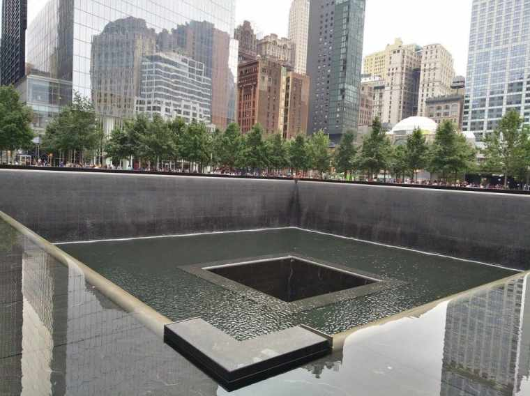 24 hours in New York - The 9/11 memorial