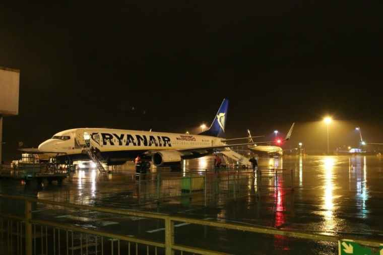 Ryanair At Stansted