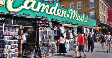 6 Markets You Should Not Miss When Shopping in London Camden Town Market