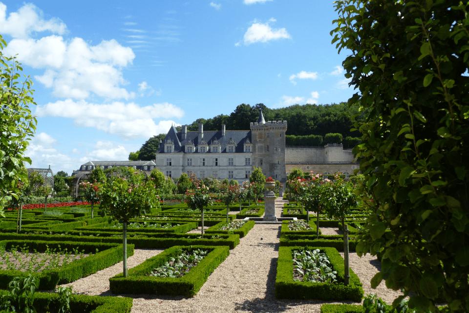 Jardins de Villandry, près de Tours
