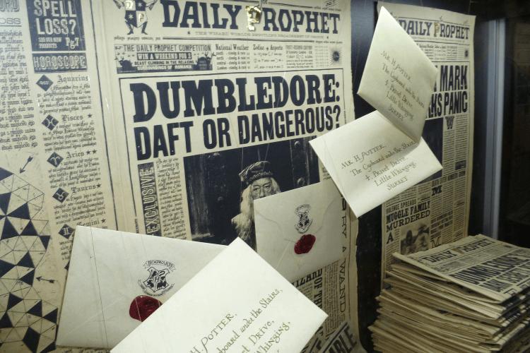 Journaux et lettres Harry Potter