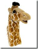 marionnette girafe CNV