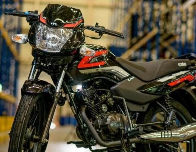 TVS motorcycles, Auteco wants 11% of the market