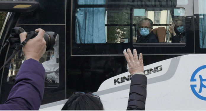 WHO team begins investigation in Wuhan