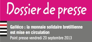 dossier de presse monnaie solidaire bretillienne 20 sept 2013
