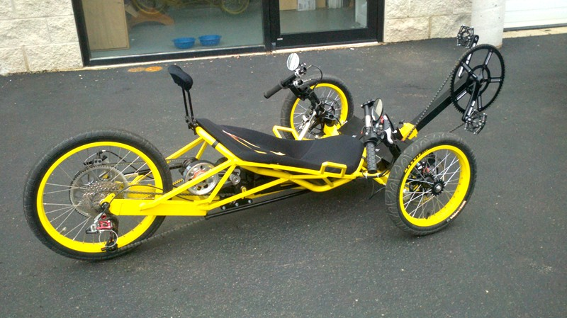 Recumbent ETrike projects  Electric trike