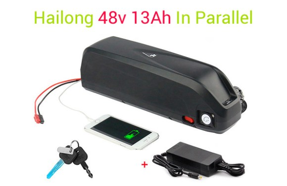 A Second Hailong 48v 13aH Battery In Parallel