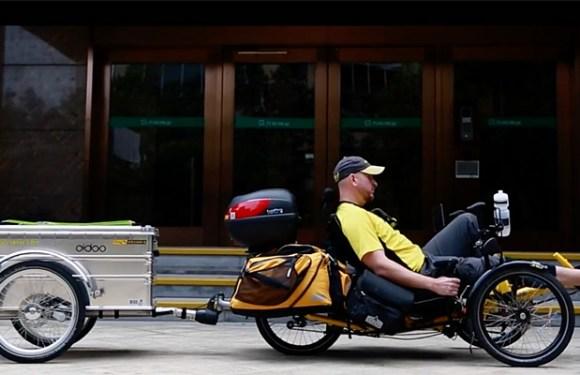VIDEO – JaYoe World Tour On A Recumbent Trike